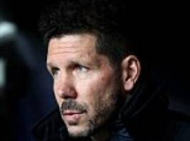 diego simeone says atletico madrid could have scored more