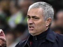 jose mourinho 'sent the right message' to man united