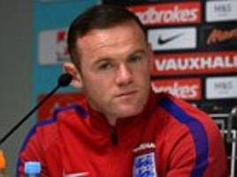 rooney's england squad place in doubt