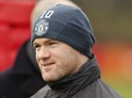 rooney to call the shots on manchester united departure