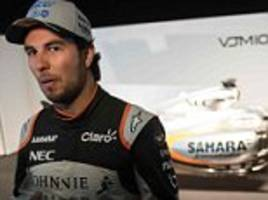 sergio perez believes force india can be in f1's top three