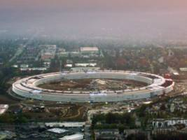 apple just released this beautiful drone video of its new 'spaceship' campus