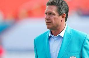 The Miami Dolphins are re-signing Dan Marino in strange tribute