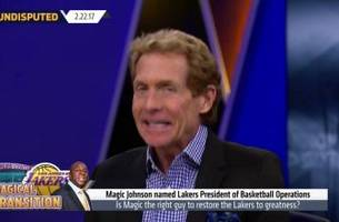 Skip Bayless: Magic Johnson will turn around the Lakers | UNDISPUTED