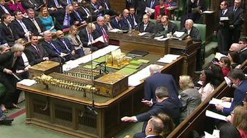 tom watson's 'inadvertent' dab in pmqs