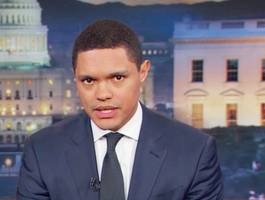 trevor noah says trump doesn't have the 'balls' to go on an unfriendly show