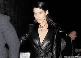 bella hadid gets 'very flirty' with a 'mystery photographer.' moving on from the weeknd?