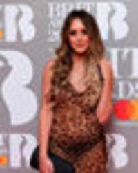 BRITs 2017: Charlotte Crosby flashes her knickers in completely see-through gown