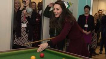 kate middleton's pool-playing skills called 'dreadful'