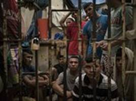 Inside Brazilian prisons where gangs fight for dominance