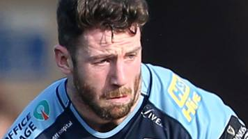 alex cuthbert: wales wing available for cardiff blues at edinburgh