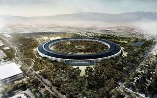 apple just announced when its futuristic new $5bn campus will open