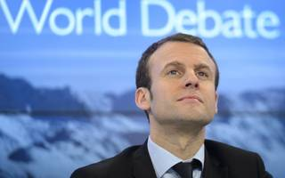 macron's presidential bid wins a big endorsement, and the markets like it