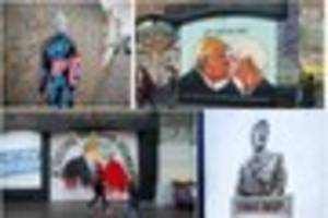 Top Trumps: Bristol's best Donald Trump themed street art