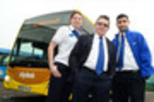 kinchbus drivers have a smart new look