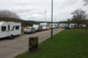 travellers pitched up in colwick told to leave within 24 hours