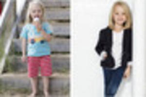 the four-year-old girl from cornwall who is now modelling for...