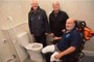 VIDEO : New disabled toilets offering bliss for wheelchair users...