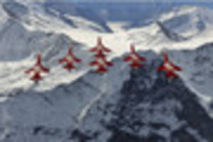 Swiss aces will zoom in to star in West Country air show