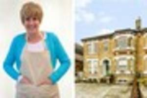bake-off's jane beedle is selling her beckenham home for...