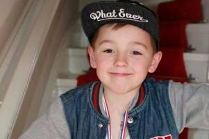 Death of boy killed by falling headstone would have been 'instant and painless', inquest hears
