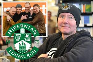 irvine welsh to write trainspotting 3 - but only if hibs win derby match