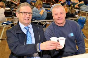 Our people: Blood donor champions Billy and Crawford have helped save lives for decades