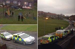 Police officers in tense stand-off after early morning axe rampage through streets of Bellsbank