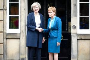 Theresa May prepares 'war cabinet' to fight IndyRef2