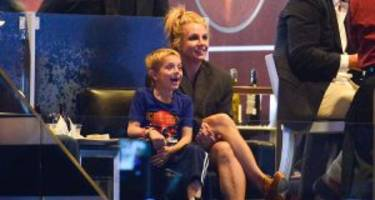 """Doting Mom Britney Spears Spends Quality Time Making """"Silly Faces"""" with Son Jayden James"""