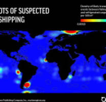 oceana report exposes thousands of suspected vessel rendezvous at sea