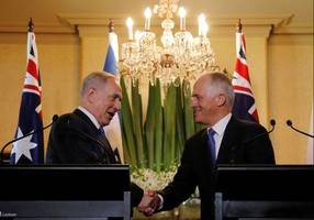 Australia underlines support for two-state solution as Netanyahu makes historic visit