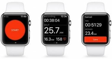 Strava Fitness Tracking App Launched on Apple Watch