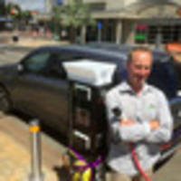 Solar powered electric vehicle charging station opened in Tauranga