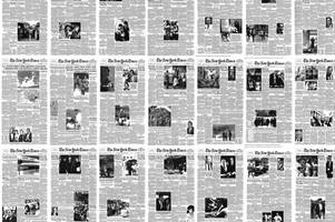 See photojournalism evolve across the front pages of the New York Times