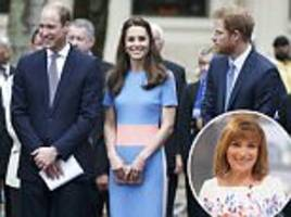 Lorraine Kelly claims Prince Harry is envious of William