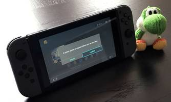 The first thing you need to do with Nintendo's new console is download a major update