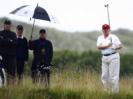 'I'm the best golfer of the rich people': Trump insists GE CEO Jeff Immelt tell the story of the time Trump hit a hole in one