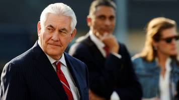 Tillerson seeks to quell Trump immigration furore in Mexico