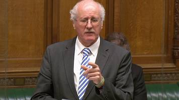 Jim Shannon cries recalling cousin's death to MPs