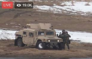 Live Feed: Riot Police And Humvees Move In To Remove Last Remaining Standing Rock Protesters