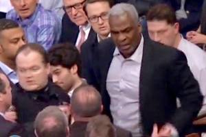 charles oakley to attend knicks game tonight…in cleveland