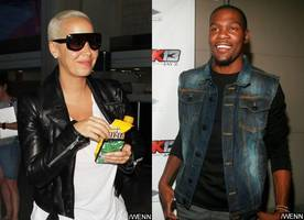 New Couple Alert? Amber Rose Spotted Partying With Kevin Durant