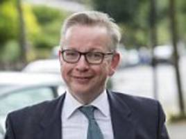 Gove says Trump is a 'narcissist' who may quit presidency