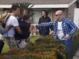 Protests in Anaheim after off-duty cop pulls GUN on teens