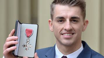 max whitlock: double olympic champion says queen is a gymnastics fan