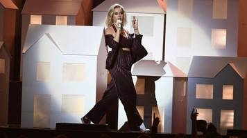 Katy Perry Brings Politicized Skeletons To The Brit Awards
