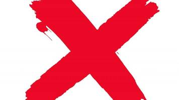 'shine a light on slavery day' covers social media in red x's