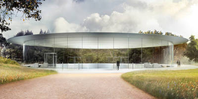 apple's futuristic 175-acre campus features a theater named after steve jobs