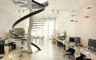 get rid of your commute with this designer live/work mews
